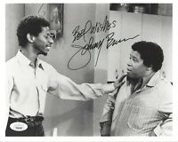 Johnny Brown Signed 8x10 Photo JSA COA Autograph Laugh-In  Actor