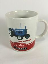 Ford 5000-Series tractor china coffee mug--brand new and hard to find Ford gift!