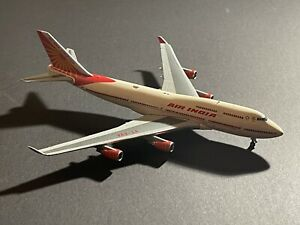 Air India B747-400 1/400 Gemini Jets