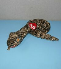"""12"""" Long Ty Beanie Babies Chinese Zodiac Collection Snake Retired Reptile Plush"""