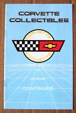 CATALOG ~ 1984 CORVETTE COLLECTIBLES