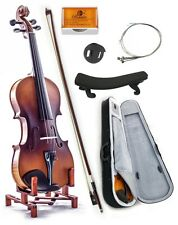 Premium Solid Wood 1/2 Violin w Case Bow Rosin String **GIFT SET** SKYVN102