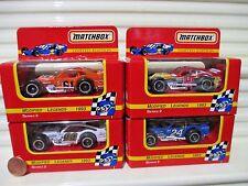 MATCHBOX 1993 Series 2 LEGENDS Modified Cars B.Bodine G.Bodine R.Evans JSpencer
