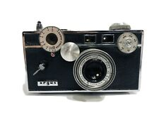 Vintage Argus C3 35MM Camera & Case With 50MM Lens needs cleaning
