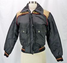 Vintage 80s YAMAHA Maxim Wear Motorcycle Snowmobile PUFFER Coat Jacket Womens S