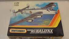 NEW MATCHBOX HANDLEY PAGE HALIFAX AIRPLANE 1/72 SCALE MODEL KIT