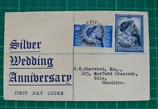 1948 Silver Wedding Anniversary First Day Cover Manchester  26 AP 48 CDS