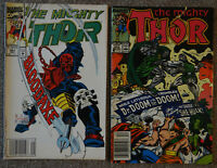 The Mighty Thor Nr. 410/1989, Nr. 451/1992 - Marvel Comics