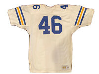 Vintage NFL Los Angeles Rams Practice Used Jersey - White Circa 1980's