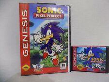 Sonic Pixel Perfect  Sega Genesis Mega Drive.