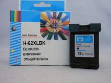 HP62XL Black Inkjet Cartridge for HP ENVY 7645 7640 5664 5663 5660 5646 5643