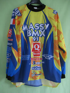 Maillot BMX Massy Racing Velo cross Vintage Jersey Moto - M