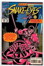Marvel G.I. JOE #141 Starring Snake Eyes 1993 NM Vintage Comic
