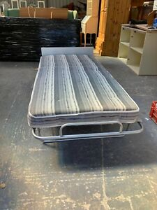 Good Quality 3ft Single Folding Bed with Mattress Spare Put Up