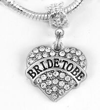 Bride to Be Jewelry Bride to Be Gift Bride Charm Bride to Be Charm only Dangle