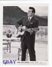 Mario Lanza Serenade VINTAGE Photo