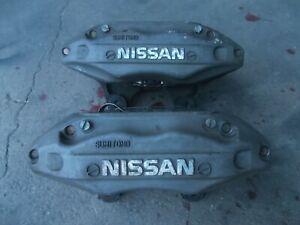 NISSAN SKYLINE R33 GTST RB25DET 4piston front brake caliper pair sec/h #6