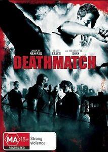 Ring of Death DVD ACTION - AKA: Death Match - Johnny Messner 2008 RARE REGION 4