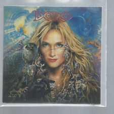 """DORO """"Extracts From The Forthcoming Album: Angels Never Die"""" Cardsleeve Promo CD"""