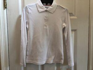 NEW! French Toast Girls White Shirt Size 8