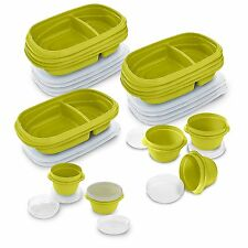 Rubbermaid TakeAlongs 10-Day Meal Prep Kit, 30-piece Set -  Green 2005630  NEW