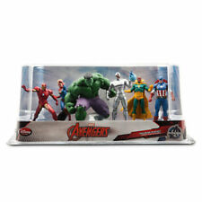 Disney Marvel The Avengers Hulk Ultron Captain America Figure Figurine Play Set