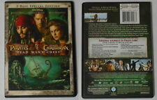 Pirates Of the Caribbean, Dead Man's Chest  U.S. 2 dvd in original cover