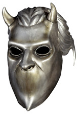 """""""Nameless Ghoul"""" Silver Latex Mask """"Ghost"""" Heavy Metal Band Character Mask"""