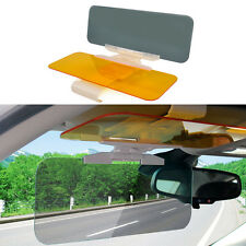 Car Sunshade Anti-Glare Dazzle Goggle Vision Driving Mirror Sun Visor Clip Board
