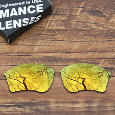 T.A.N Polycarbonate Replacement Lens for-Oakley Half Jacket XLJ - Gold Mirrored
