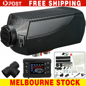 5KW 12V Air Diesel Heater Tank Vent Duct Thermostat Caravan Motorhome LCD AU