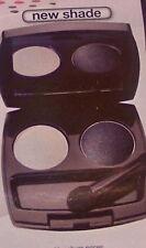 New Avon True Colour Eyeshadow Duo -Black Pearl Free P&P look rrp£6 Smokey Eye