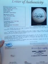 """DEREK JETER GAME USED BALL- ROOM 4 DADS NAME -MLB FATHER DAY _ CAN""""T GET 4 LESS"""
