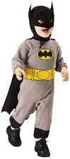 BATMAN BABY COSTUME Infant 6-12M Superhero Comic Cape Dark Knight Boys NEW