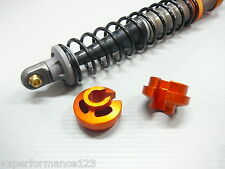 4mm 6mm Orange Alloy VCC/HD Shock END CAP HPI BAJA 5B 5T KM Rovan Shocks 2X