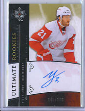 Ville Leino 09-10 UD Ultimate Collection Rookie Auto