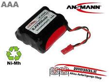 Antriebsakku AAA 8.4V600 mAh 4+3 mit BEC Buchse,   Stecker auch frei wählbar...