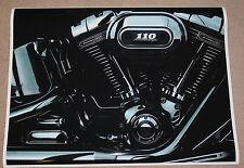 HARLEY DAVIDSON SCREAMING EAGLE 110 ENGINE POSTER PRINT 27x36 HI RES 9MIL PAPER
