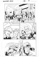 Booster Gold #37 p.17 - Booster Gold, Estrogina & Skeets - 2010 by Chris Batista
