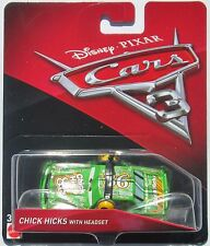 ++ Disney Pixar Cars 3 - Chick Hicks With Headset