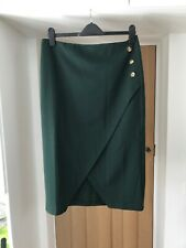 v by very Womens Green Skirt New With Tags Size UK 14