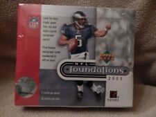 2005 Upper Deck Foundations NFL Football Factory Sealed Hobby Box