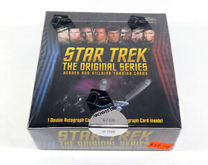 2013 Rittenhouse Star Trek Original Series Heroes/Villains Box Sealed (24 Packs)