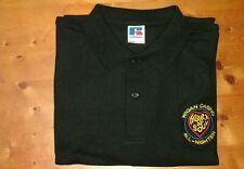 New Retro Black polo shirt Wigan Casino All Nighter mod northern soul dance club