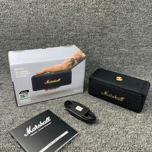 Marshall - Emberton Tragbar Bluetooth Speaker Lautsprecher - Schwarz & Messing