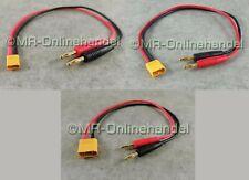 Ladegerätkabel XT60 Bananenstecker 16-AWG Silikonkabel für RC Lipo Batterie