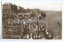 tq0116 - Yorks - A Busy Royal Prince's Parade, in Bridlington - postcard