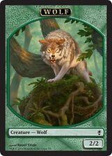 4x TOKEN Wolf 2/2 MTG MAGIC CNS Conspiracy English