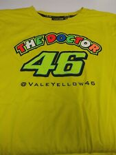 T-shirt The Doctor VR46 Official Racing Apparel,yellow, graphics, XXL, short slv