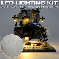 NEW LED Light Up Kit For LEGO Creator Apollo 11 Lunar Lander 10266 Lighting   *